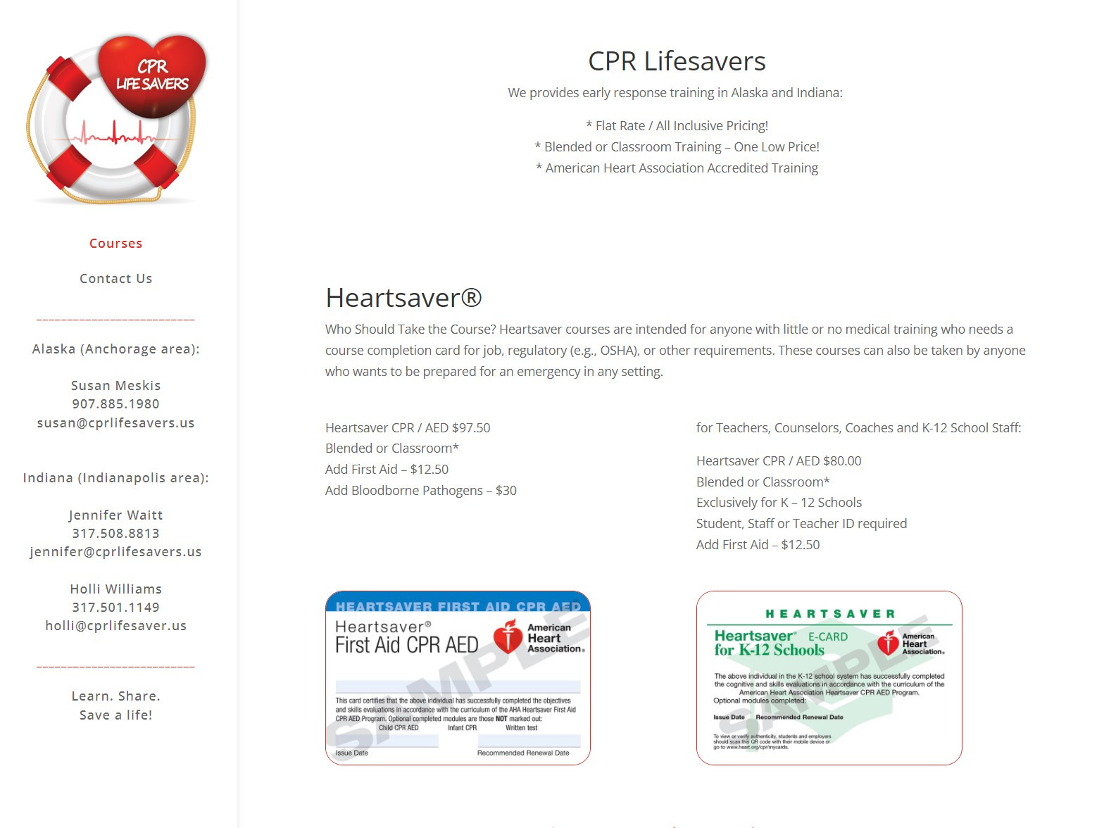 cpr life savers